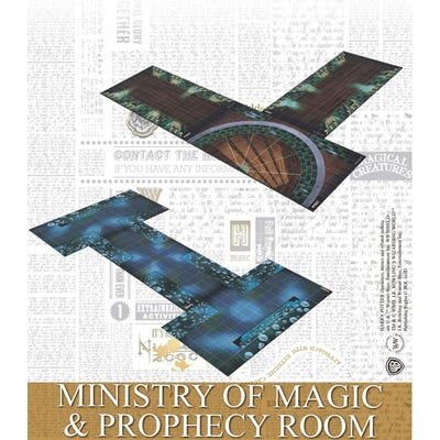 Ministry of Magic & Prophecy Room - Spanish