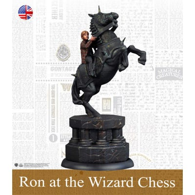 Ron Weasley At The Wizard Chess - Spanish