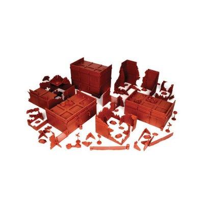 Red Brick Terrain Mega Bundle