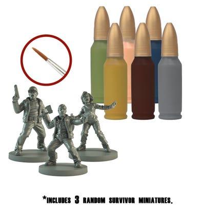 The Walking Dead Survivor Paint Set