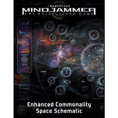 Mindjammer: The Enhanced Commonality Space Schematic