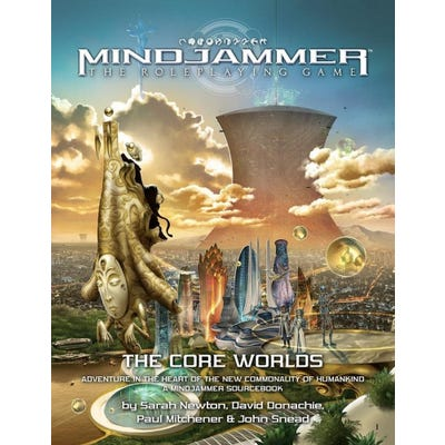 Mindjammer: The Core Worlds Sourcebook
