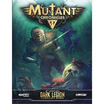 Dark Legion Campaign: Mutant Chronicles Supp- Full Color