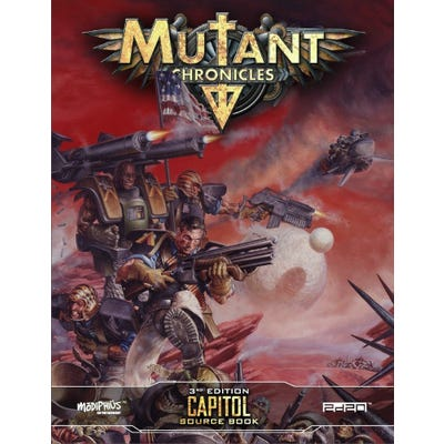 Capitol Source Book: Mutant Chronicles Supplement