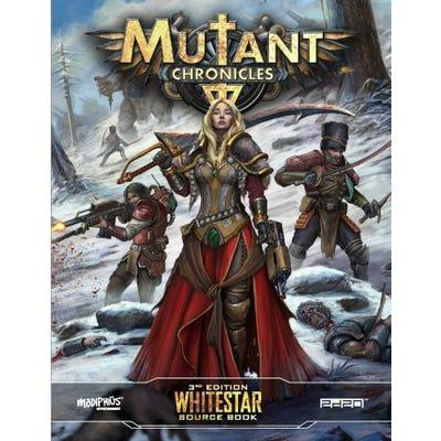 Whitestar Source Book: Mutant Chronicles (Supplement)