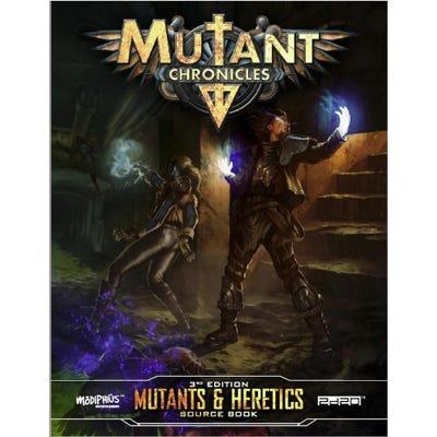 Mutant Chronicles: Mutants & Heretics Sourcebook