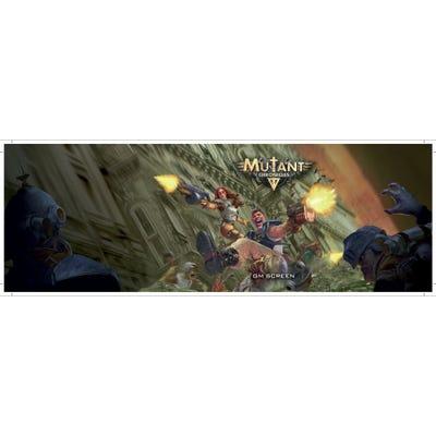 GM Screen: Mutant Chronicles