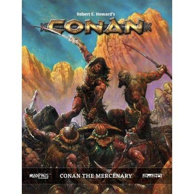 Conan The Mercenary: Conan RPG Supp. Hardback