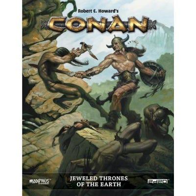 Jeweled Thrones of the Earth: Conan RPG Supp. Hardback