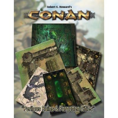 Conan: Perilous Ruins & Forgotten Cities Geomorphic Tiles Set