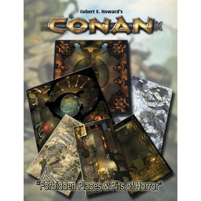 Conan: Forbidden Places & Pits of Horror Geo Tile Set