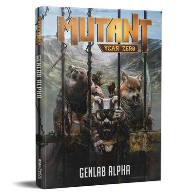 Mutant - Genlab Alpha Corebook Hardcover