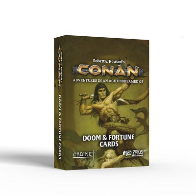 Conan: Doom and Fortune Cards
