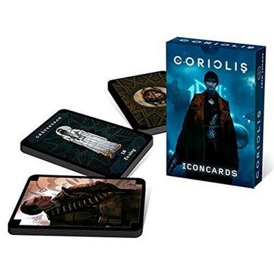 Coriolis Icon Card Deck (Coriolis RPG Accessory)