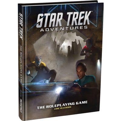 Star Trek Adventures Core Rulebook - Hardback