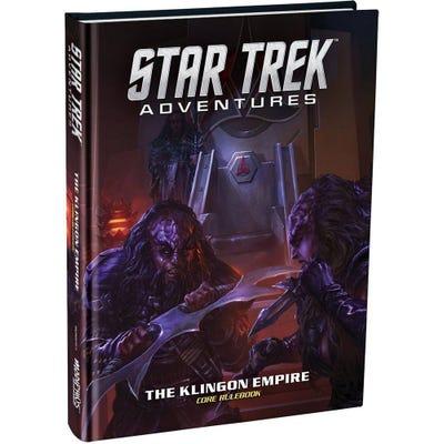 Star Trek Adventures: The Klingon Empire Core Rulebook Standard Edition