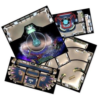 The Next Generation Starfleet Deck Tiles: Star Trek Adventures Accessories