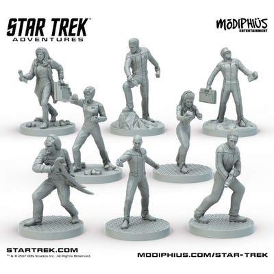 Star Trek Adventures - The Next Generation Bridge Crew