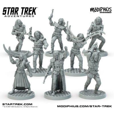 Star Trek Adventures - Klingon Warband
