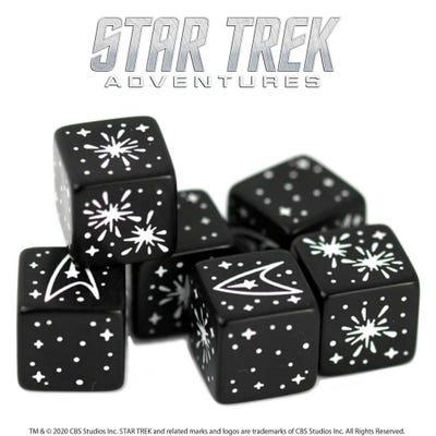 Star Trek Adventures: Challenge Dice Set