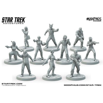 Star Trek Adventures: The Next Generation Away Team 32mm Miniatures