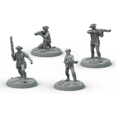Fallout: Wasteland Warfare - Survivors Minutemen Posse
