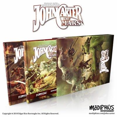 John Carter of Mars: Adventures: 2 Book Slipcase - Core+ Phantoms