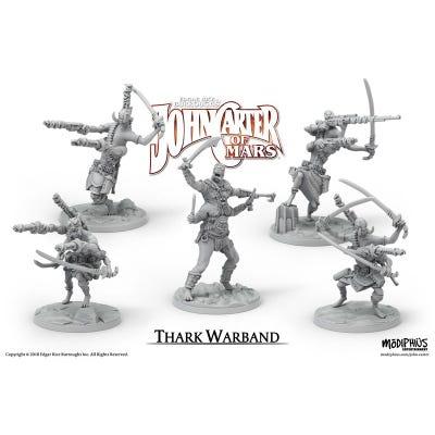 John Carter Miniatures: Thark Warband Miniatures Set