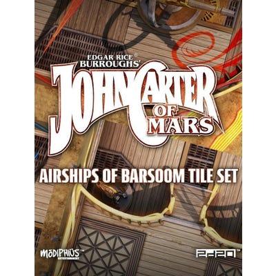 John Carter of Mars RPG: Airships of Barsoom Map Tiles
