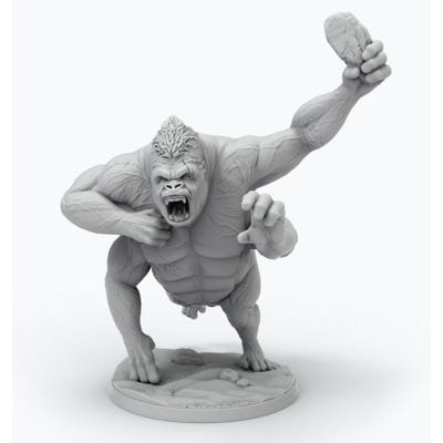 John Carter Miniatures: White Ape