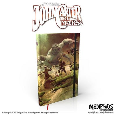 John Carter of Mars: Adventures: Prince of Helium Notebook