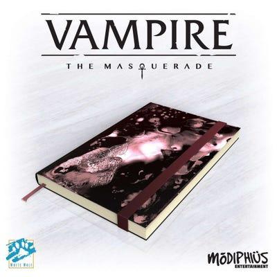 Vampire: The Masquerade Official Notebook