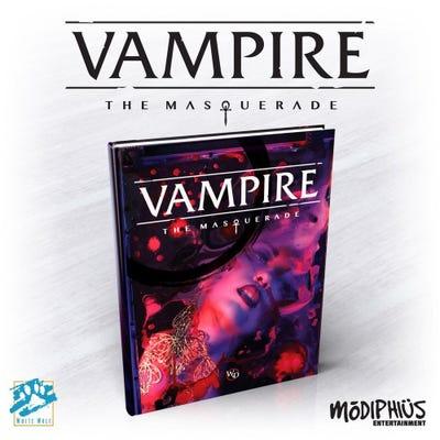 Vampire: The Masquerade 5th Ed Core Book