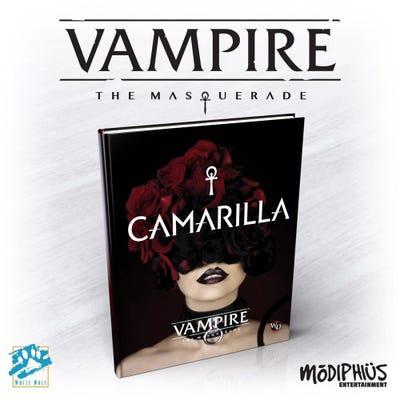 Vampire: The Masquerade 5th Ed Camarilla Supplement