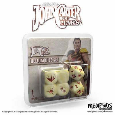 John Carter of Mars RPG: Helium Dice Set