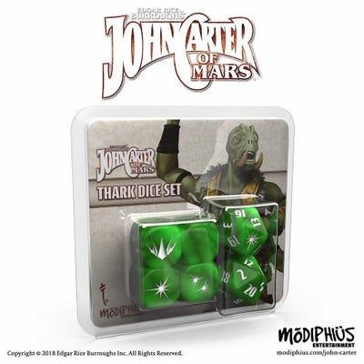 John Carter of Mars RPG: Thark Dice Set