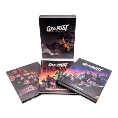City of Mists RPG: Premium Slipcase Set