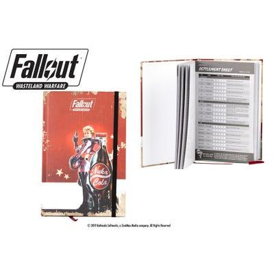 Fallout: Wasteland Warfare - Nuka Cola Girl Notebook