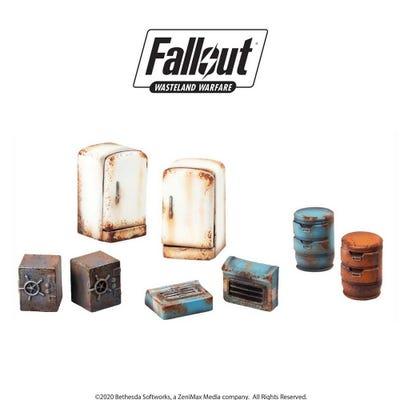 Fallout: Wasteland Warfare - Terrain Expansion: Boston Searchables