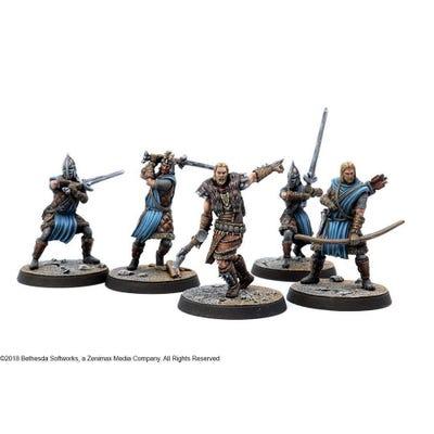 The Elder Scrolls Call to Arms Stormcloak Resin Faction Starter Set
