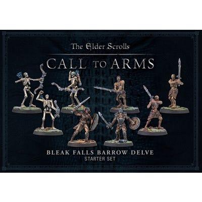 The Elder Scrolls Bleak Falls Barrow Resin Delve Set