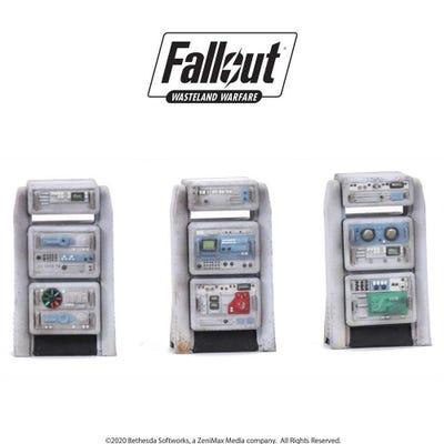 Fallout: Wasteland Warfare - Terrain Expansion: Heavy Consoles