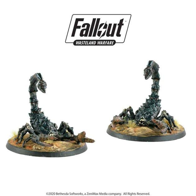 Fallout: Wasteland Warfare - Radscorpions