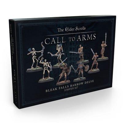 Elder Scrolls: Call To Arms: Bleak Falls Barrow Delve Set - Plastic
