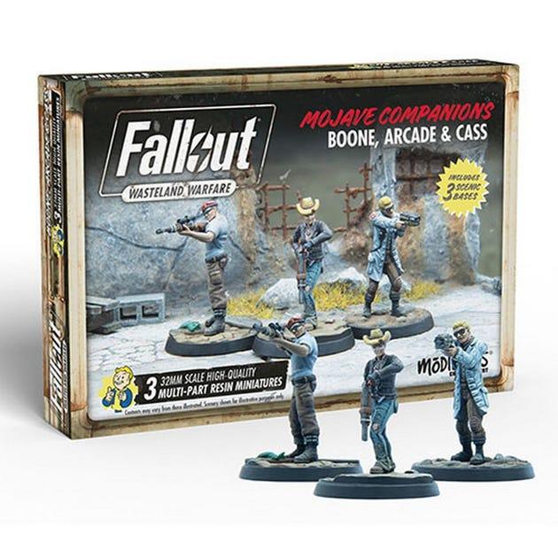 Fallout: Wasteland Warfare - Boone, Arcade and Cass