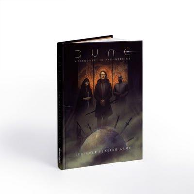 Dune RPG Adventures in the Imperium Core Rulebook