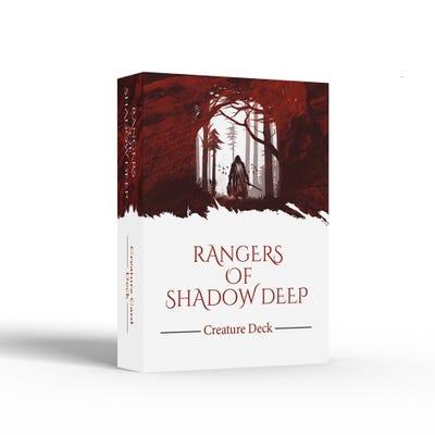 Rangers of Shadow Deep Creature Card Deck