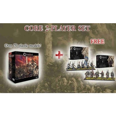 2 Player Bundle Deal - Core Box with Steel Legion and Marksman Clones