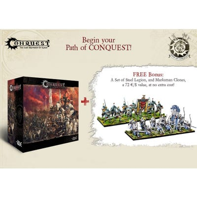 Begin Your Path of Conquest - 2 Player Starter Set - Bundle