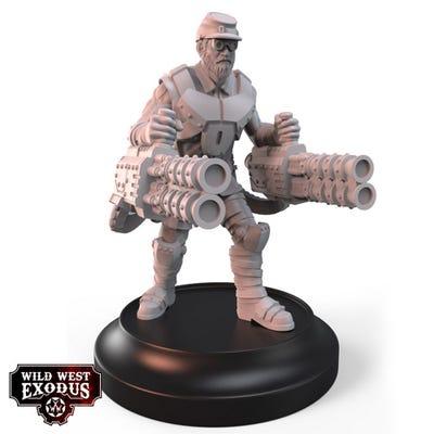 Confederate Trooper with Heavy Slugger
